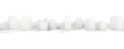 Abstract blocks city Stock Photo