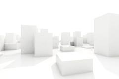 Abstract blocks city Stock Photos