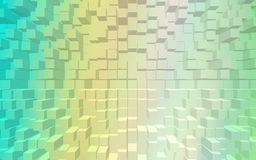 Abstract blocks pattern wallpaper Stock Photography