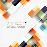 Abstract blocks template design background, simple geometric shapes on white, straight lines and rectangles Royalty Free Stock Photos