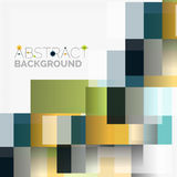 Abstract blocks template design background, simple geometric shapes on white, straight lines and rectangles. Abstract vector blocks template design background royalty free illustration