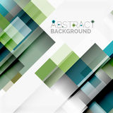 Abstract blocks template design background, simple geometric shapes on white, straight lines and rectangles. Abstract vector blocks template design background stock illustration