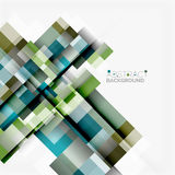 Abstract blocks template design background, simple geometric shapes on white, straight lines and rectangles. Abstract vector blocks template design background vector illustration