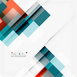 Abstract blocks template design background, simple geometric shapes on white, straight lines and rectangles Royalty Free Stock Photography
