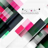 Abstract blocks template design background  Stock Image