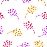 Abstract bloem naadloos patroon Royalty-vrije Stock Fotografie