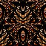Abstract Bloemen 3d Naadloos Patroon Vector bloemenwi als achtergrond stock illustratie