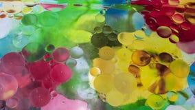 Abstract bloemen kleurrijk onduidelijk beeld Stock Foto's