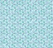 Abstract bloemen naadloos patroon. Stock Afbeelding