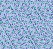 Abstract bloemen naadloos patroon. Royalty-vrije Stock Afbeelding