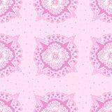 Abstract bloemen naadloos patroon Stock Afbeelding
