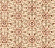Abstract bloemen naadloos patroon Oosterse Aziatische bliksem ornam Stock Afbeeldingen