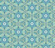 Abstract bloemen naadloos patroon Oosterse Aziatische textuur Stock Fotografie