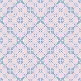 Abstract bloemen naadloos patroon Subtiel geometrisch ornament in pastelkleuren stock illustratie