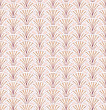 Abstract bloemen retro naadloos patroon royalty-vrije illustratie