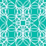 Abstract bloemenelementen naadloos patroon Stock Foto