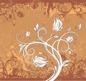 Abstract bloemengrungepatroon Royalty-vrije Stock Foto's