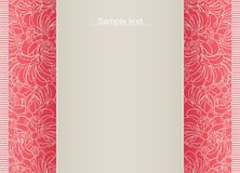 Abstract bloemenmalplaatje voor kaart. Royalty-vrije Stock Foto