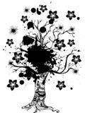 Abstract bloemenontwerp Stock Foto