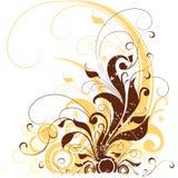 Abstract BloemenOntwerp Stock Illustratie
