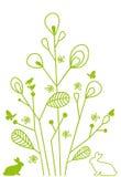 Abstract bloemenontwerp Stock Fotografie