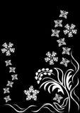 Abstract bloemenornament Royalty-vrije Stock Fotografie