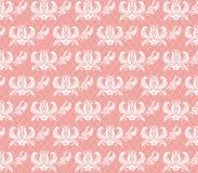 Abstract Bloemenornamentpatroon Stock Fotografie