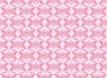 Abstract Bloemenornamentpatroon Stock Afbeeldingen