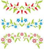 Abstract bloemenpatroon Stock Fotografie