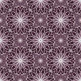 Abstract bloemenspirographpatroon Royalty-vrije Illustratie