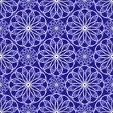 Abstract bloemenspirographpatroon Vector Illustratie