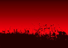 Abstract blood splat Royalty Free Stock Photo