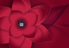 Abstract Blossom Floral Greeting Card Background Royalty Free Stock Photos