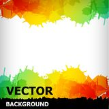The abstract blot colorful background Stock Images