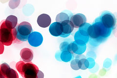 Abstract blot dot background Stock Photography