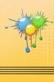Abstract Blots Stock Image
