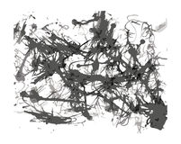 Abstract Blots Splatter Artistic Background Stock Photography