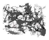 Abstract Blots Splatter Artistic Background Stock Images