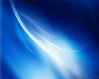 Abstract blue Royalty Free Stock Photo