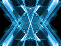 Abstract blue. Highres Rendering - use it as a background or texture vector illustration