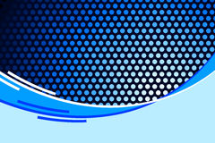 Abstract Blue Royalty Free Stock Photography