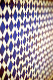 Abstract blue  in africa  tile the Stock Photo