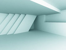 Abstract Blue Architecture Design Background. 3d Render Illustration Stock Photography