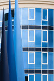 Abstract Blue Architecture Stock Photos