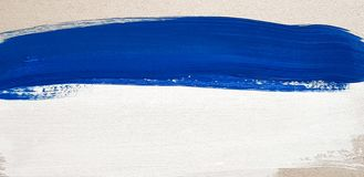 Free Abstract Blue Art Painting Background. Royalty Free Stock Image - 144803556