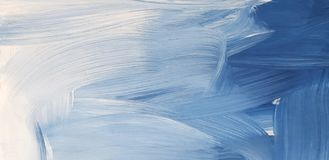 Abstract Blue Art Painting Background. Abstract waves