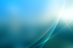 Abstract blue aurora effect background Stock Images