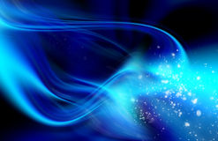 Abstract blue backg round Royalty Free Stock Photography
