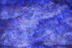 Abstract Paint Texture Blue Background Stock Photography