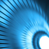 Abstract blue background Stock Image